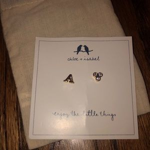 Chloe + Isabel A Earrings Spade And Ace